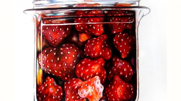 strawberry jar